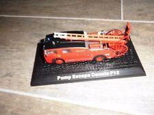 Feuerwehr Modell Autos 1:72 Maßstab aus Metall Pump Escape Dennis F 12