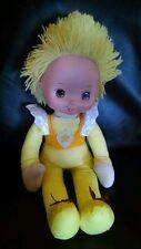 """Rainbow Brite Yellow Friend Plush Toy Doll 18"""" Tall Hallmark Toy Play LLC 1983"""