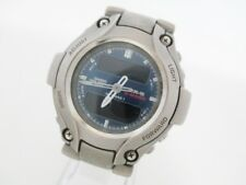 Auth CASIO G-SHOCK/MR-G MRG-130T Silver Men's Wrist Watch 714655
