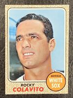 1968 Topps Rocky Colavito #99 NM-MT Nice Chicago White Sox