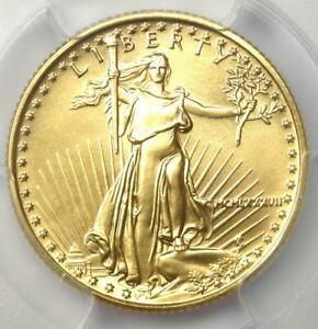 1987 American Gold Eagle $10 AGE Coin - Certified PCGS MS70 - $3,200 Value!