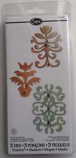 sizzix sizzlits medium Floral Insignia 3 die set by scrappy cat  RRP £14.99