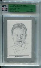 11/12 ITG ULTIMATE Memorabilia Press Plate Silver 1/1 Mark Howe H.O.F.