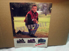 1990 JOE MONTANA L.A.Gear shoes 49ers AD Print