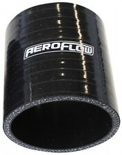 "70mm (2.75"") Black Silicone Straight Hose Coupler Joiner (3"" - 75mm Long) Aerofl"