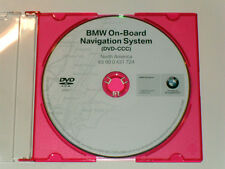 BMW NAVIGATION DVD DISC CD 2008.1 GPS MAP NAVAGATION DISK SERIES 3,5,7,M3,X5,X3,