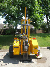 HIRE of Tall Mast Trailer Diesel Coring Rig, Diamond Coring Trailer