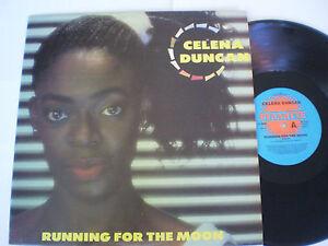 """CELENA DUNCAN - 12""""45 - """"RUNNING FOR THE MOON"""" - 1989"""