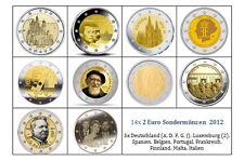 2 Euro Gedenkmünze  2012  - Alle Länder verfügbar