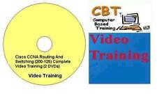 Cisco CCNA Routing & Switching (200-125) Complete Video Training (2 DVDs)