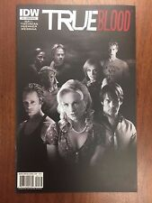 IDW Comics TRUE BLOOD #1 1:25 Key VARIANT Photo Cover HBO TV Show SHIPS FREE! NM
