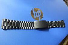 Orfina Porsche design black chronograph PD PVD NOS 20mm bracelet