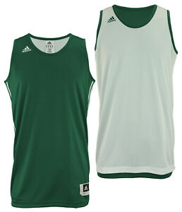 Adidas Men's Reversible Basketball Practice Jersey, Color Options