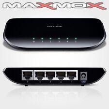 TP-LINK TL-SG1005D 5 Port Gigabit LAN DSL Netzwerk Switch RJ-45 10/100/1000 Hub