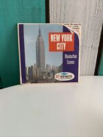 Vintage Sawyer's A653 New York City Manhattan Series view-master reels packet