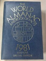 The World Almanac and Book of Facts 1981 - 113th Year Special Edition Hardcover