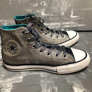 Converse All Star Chuck Taylor / Silver Metallic / Kids Size 2