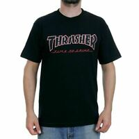 Indy Trucks x Thrasher Tee Time To Grind Black Independent Skateboard T-Shirt