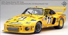 Exoto 1/18 1979 Porsche 935 Turbo #71 Roy Woods, Rob McFarlin, Bob Akin RLG19108
