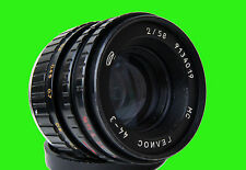 Helios 44-3  f/2/58mm Lens Nikon mount, full CLA, Excellent, Infinity