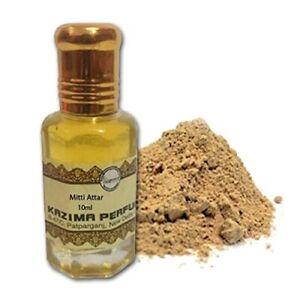 KAZIMA Mitti Attar Perfume For Unisex - Pure Natural Undiluted 10ml