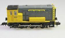 Roco H0 4155 Diesellok Serie 2200 2300 NS grau gelb geprüfter Zustand aus Sammlu