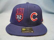1cf16e6ad2df0 Chicago Cubs Nike MLB Verbiage True Snapback Cap Area Code 312 Hat