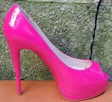 New Christian Louboutin Palais Royal Pink Patent Leather Shoes Sz 39/ us 8