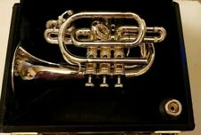 Beautiful Benge Pocket Trumpet in Bb with its Original Benge Mouthpiece & Case