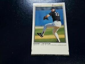 Bobby Thigpen Chicago White Sox 1991 O-Pee-Chee Premier BLANK BACK PROOF