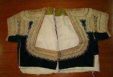 Jewish Judaica Antique Morocco Moroccan Bride Dress Wedding Hand Made Embroidery