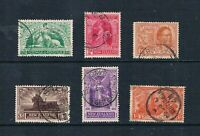 New Zealand - 1920 - Victory Set - Complete - SC 165-170 [SG 453-458] USED 21