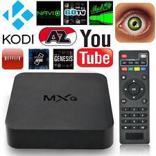MXQ Android 4.4 Quad-Core WiFi 3D HD 1080P 1G+8G Smart TV Box Media Streamer US