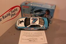 2003 Jimmy Spencer Sirius 1/24 Action NASCAR Diecast Autographed