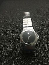 Movado SE Sport Edition Black Museum Women's Watch Swiss Made Sapphire Crystal