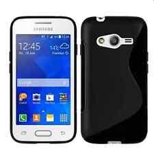 Pour Samsung Galaxy Trend 2 Lite SM-G318H  Coque en Gel Silicone S-line  Noir