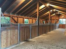 Vorderfront Baron Pferdebox Pferdeboxen Frontwand Pferdeboxen Kutzmann