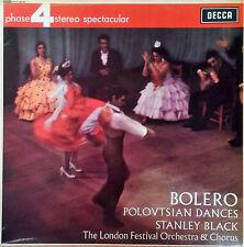 RAVEL / BOLERO - STANLEY BLACK - DECCA - PHASE 4 STEREO SPECTACULAR - U.K. LP