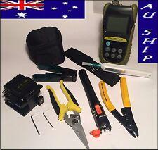 Tandem Fiber Optic Nbn Kit Pon Optical Meter 10Mw Vfl One Click Cleaner 800 Cfs3