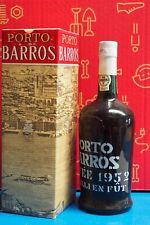 Porto Barros 1952 con Scatola. Cuvee 1952. Vieilli En Fut. Imbottigliato 1974