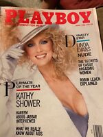 1986  JUNE,  PLAYBOY  ISSUE DYNASTY STAR LINDA EVANS NUDE And PMOY VFCONDTION