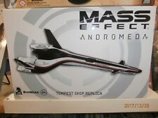 "Mass Effect Andromeda Tempest 8"" Ship Replica Statue Limited New MIB!"