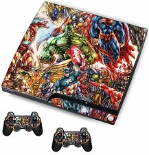 Supereroe Adesivo / Pelle PS3 PLAYSTATION 3 CONSOLE / Remote Controller, psk27