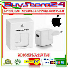 CARICABATTERIE PER APPLE MD836ZM/A A1401 12V USB POWER ADAPTOR IPHONE-IPAD