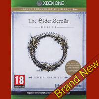 THE ELDER SCROLLS ONLINE - TAMRIEL UNLIMITED Xbox ONE ~ Brand New & Sealed!