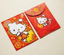Sanrio Hello Kitty Gold Fish Chinese New Year Red packet pocket envelope 8pc