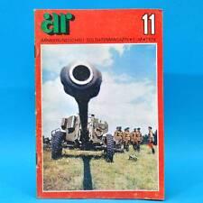 Armeerundschau 11-1974 NVA Volksarmee DDR SPW 40P Renate Blume Uschi Brüning R