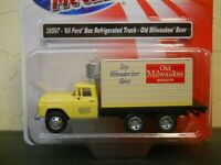 Ho scale 1/87 Classic Metal Works 1960 Ford Old Milwaukee Beer Truck CMW