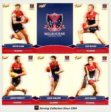 2013 Select AFL Champions Trading Cards Base Team Set Melbourne(12)