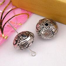 2Pcs Tibetan Silver,Gold,Bronze Spacer Beads Jewelry Making Craft DIY M1144